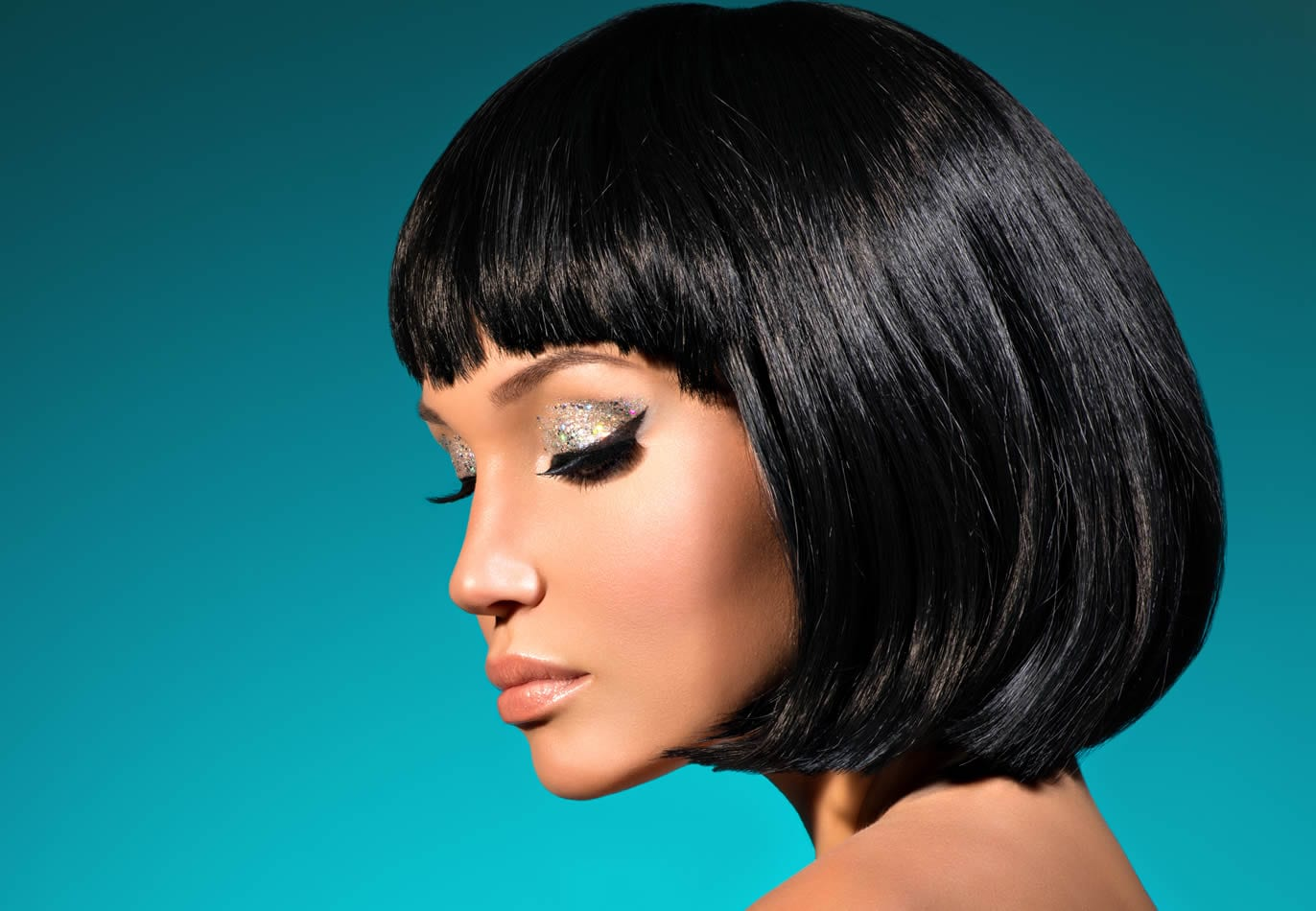 Black lady with Bob Hairstyle