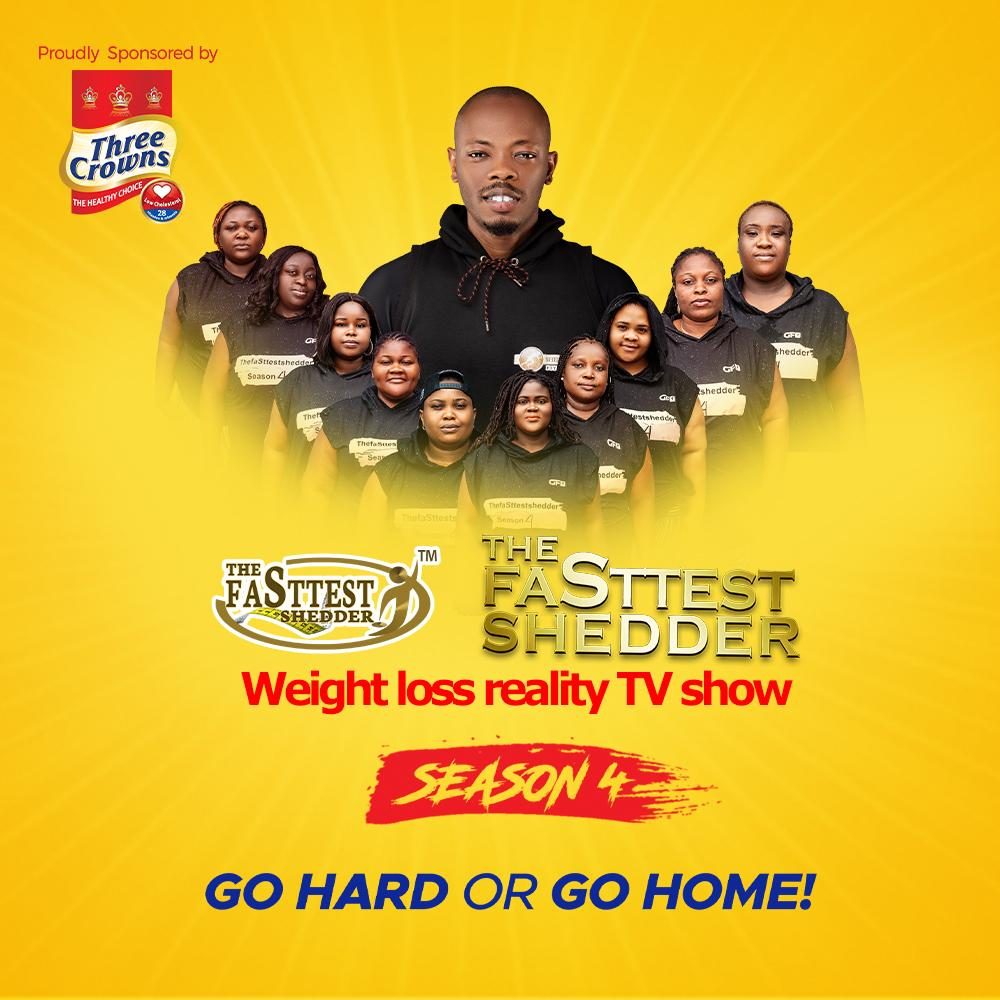 Participants of The FaSttest Shedder weight loss reality TV show